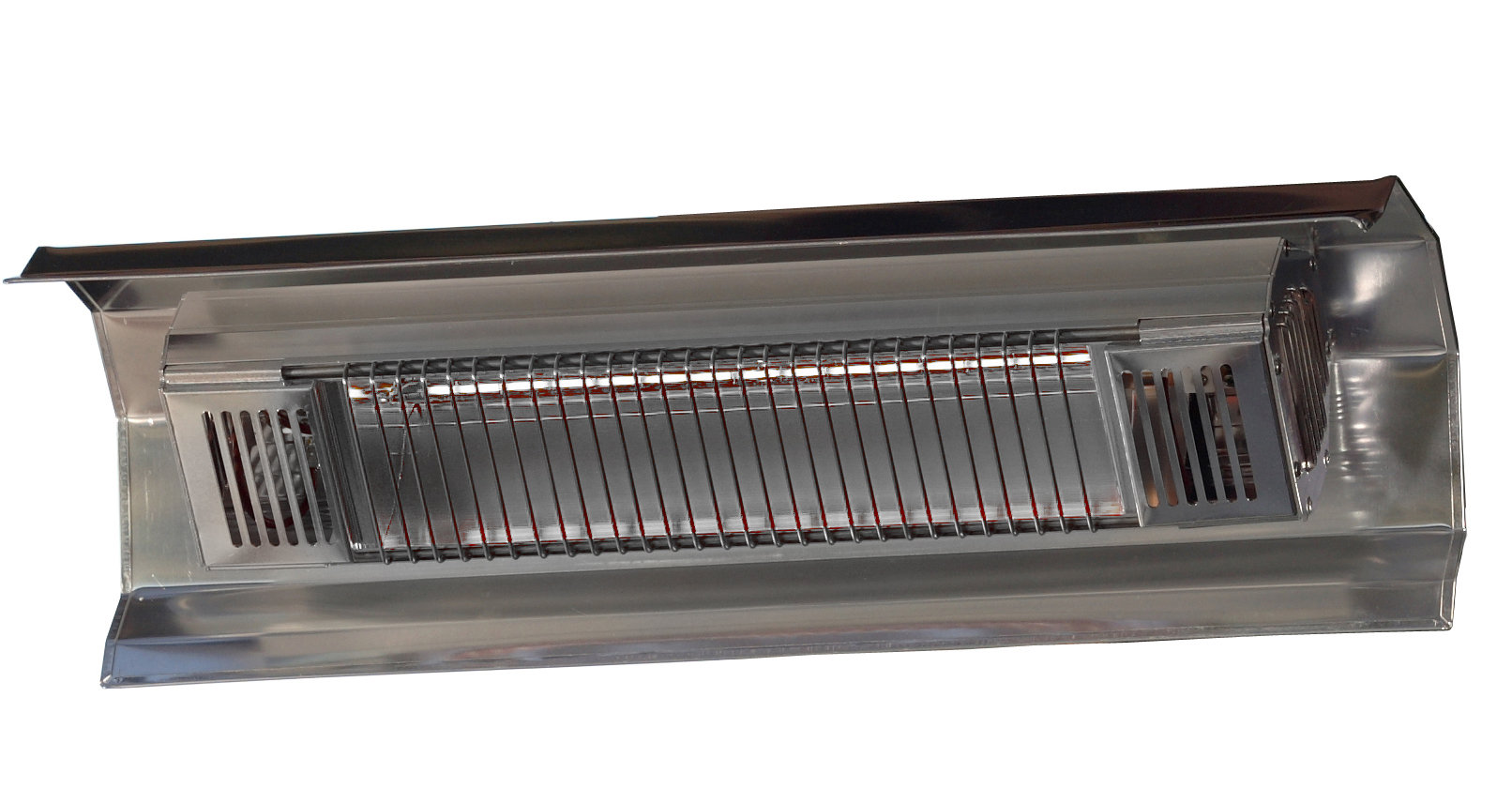 Stainless Steel Wall Mounted Infrared Patio Heater Fire