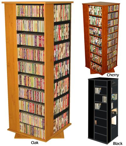 Home DVD/BluRay Capacity Of 500+ Revolving Media Tower Grande 2393