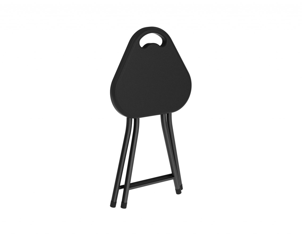Folding Stool W Handle 4 Pack In Black Atlantic Inc