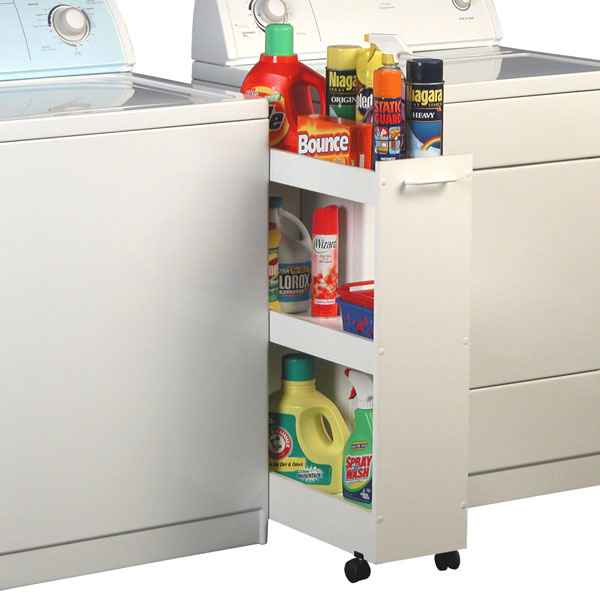 Laundry Caddy White Racksncabinets 4010 11wh