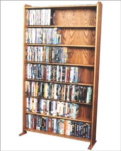 Vhs Dvd Storage Rack