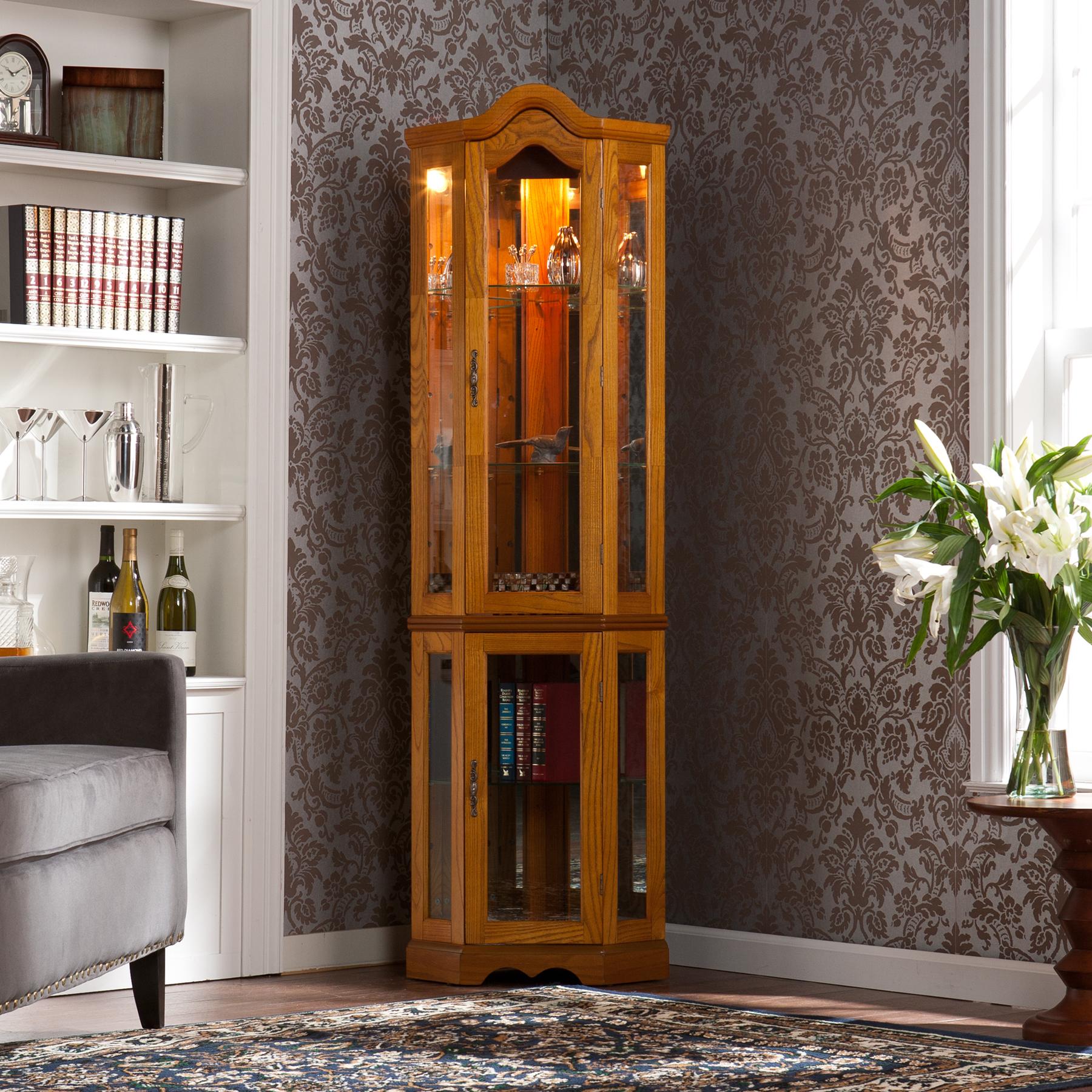 Fantastic Console Curio Cabinets, Display Cabinet, Curio, Cabinet, Curio Cabinet CB65