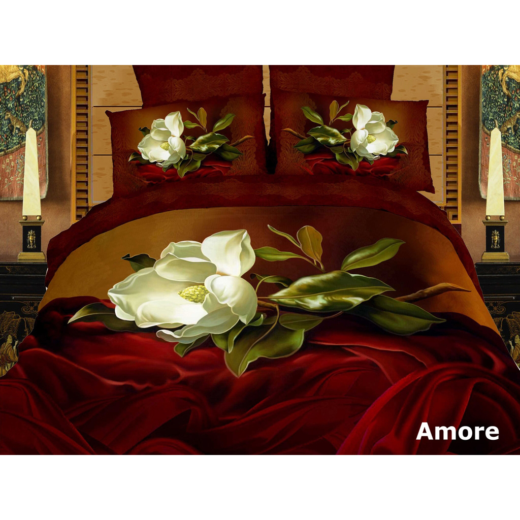Home Bedding Amore 6 Pcs Duvet Cover Set Bed In A Bag In Dolce Mela