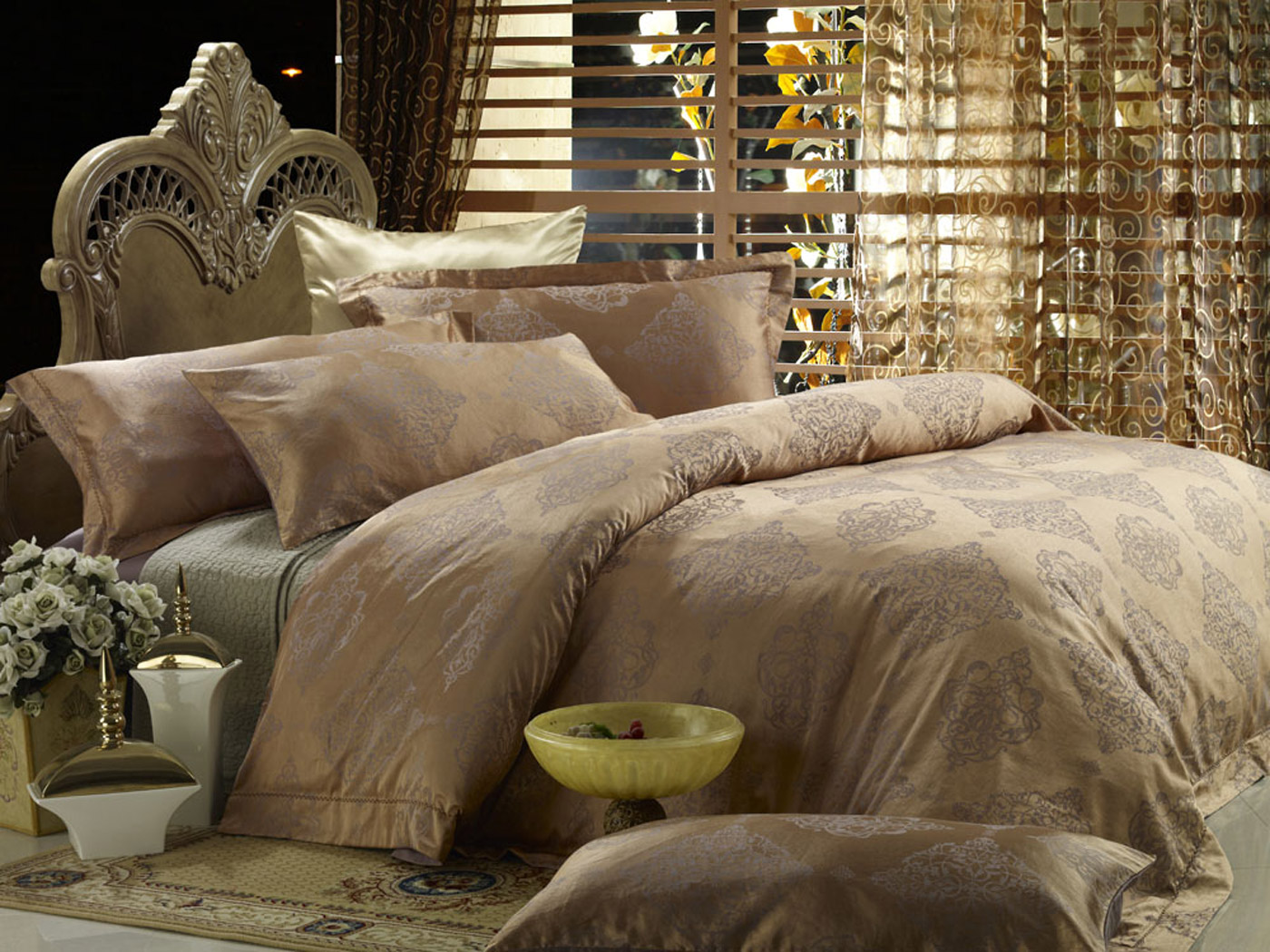 queen size duvet cover Duvet cover set Luxury Queen bedding Dolce Mela DM444Q queen size duvet cover