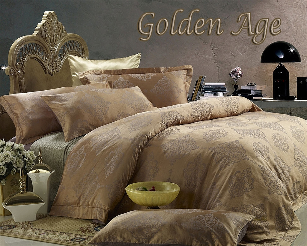 Egyptian Cotton Duvet Cover Set Golden Age Dm444q