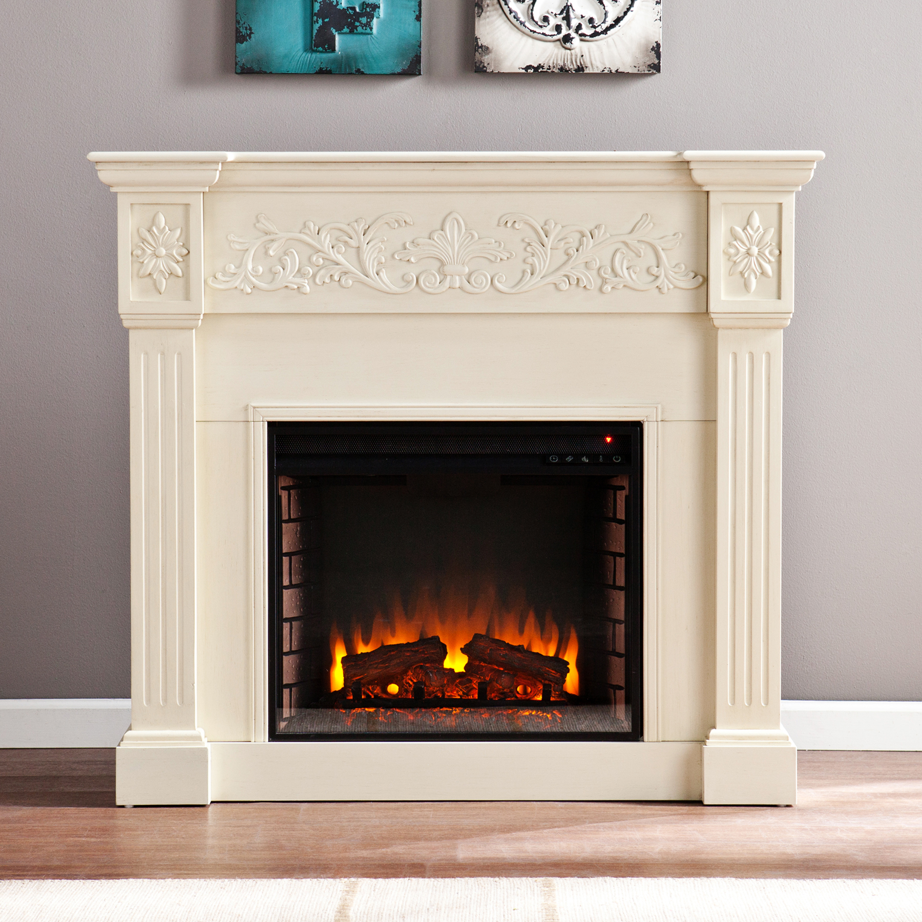 Electric Fireplace, Corner Electric Fireplace, Wall Mount ...