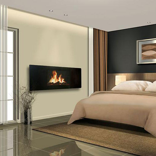 celsi panoramic lcd wall fireplace