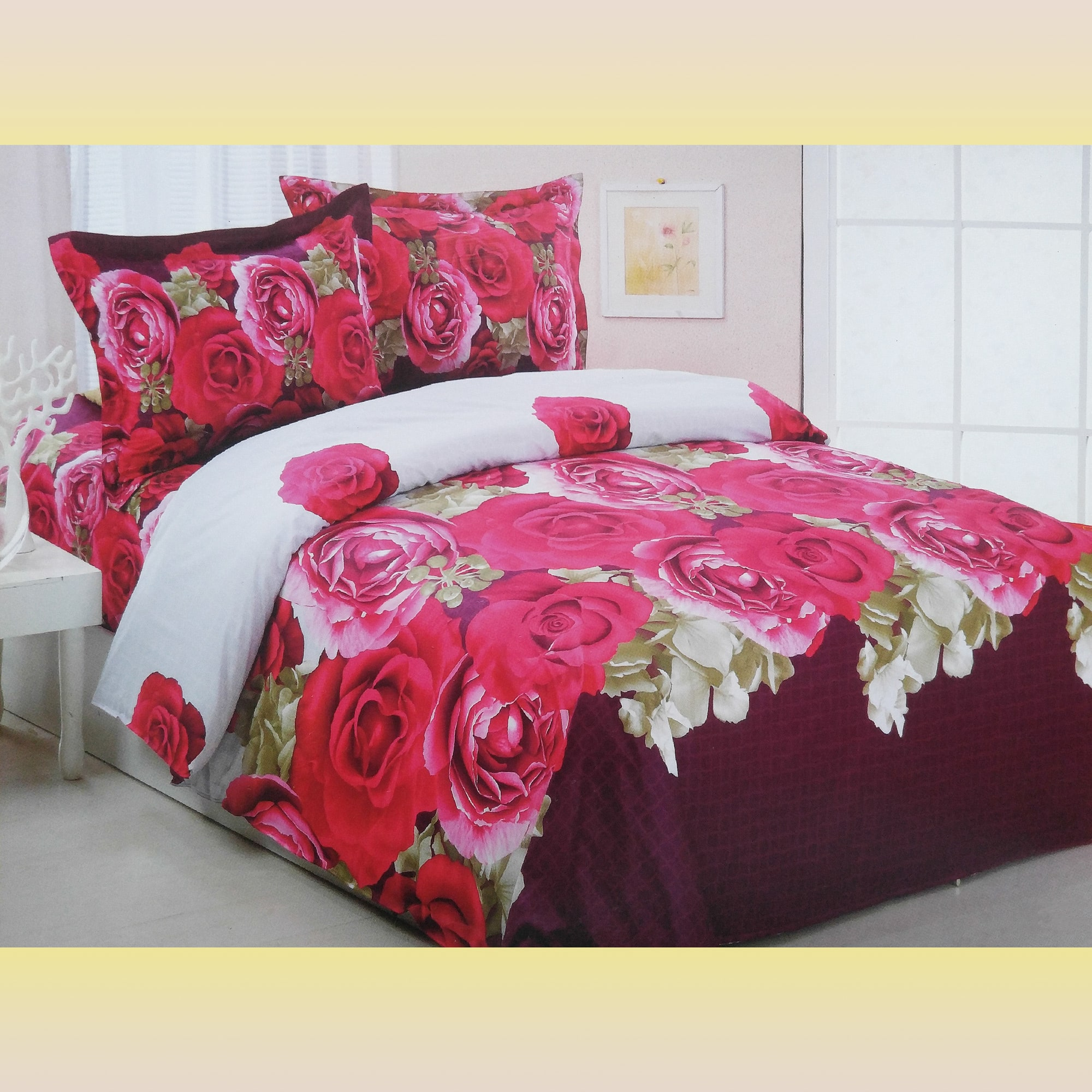 Duvet Cover Set Luxury Full Queen Bedding Le Vele Le234q