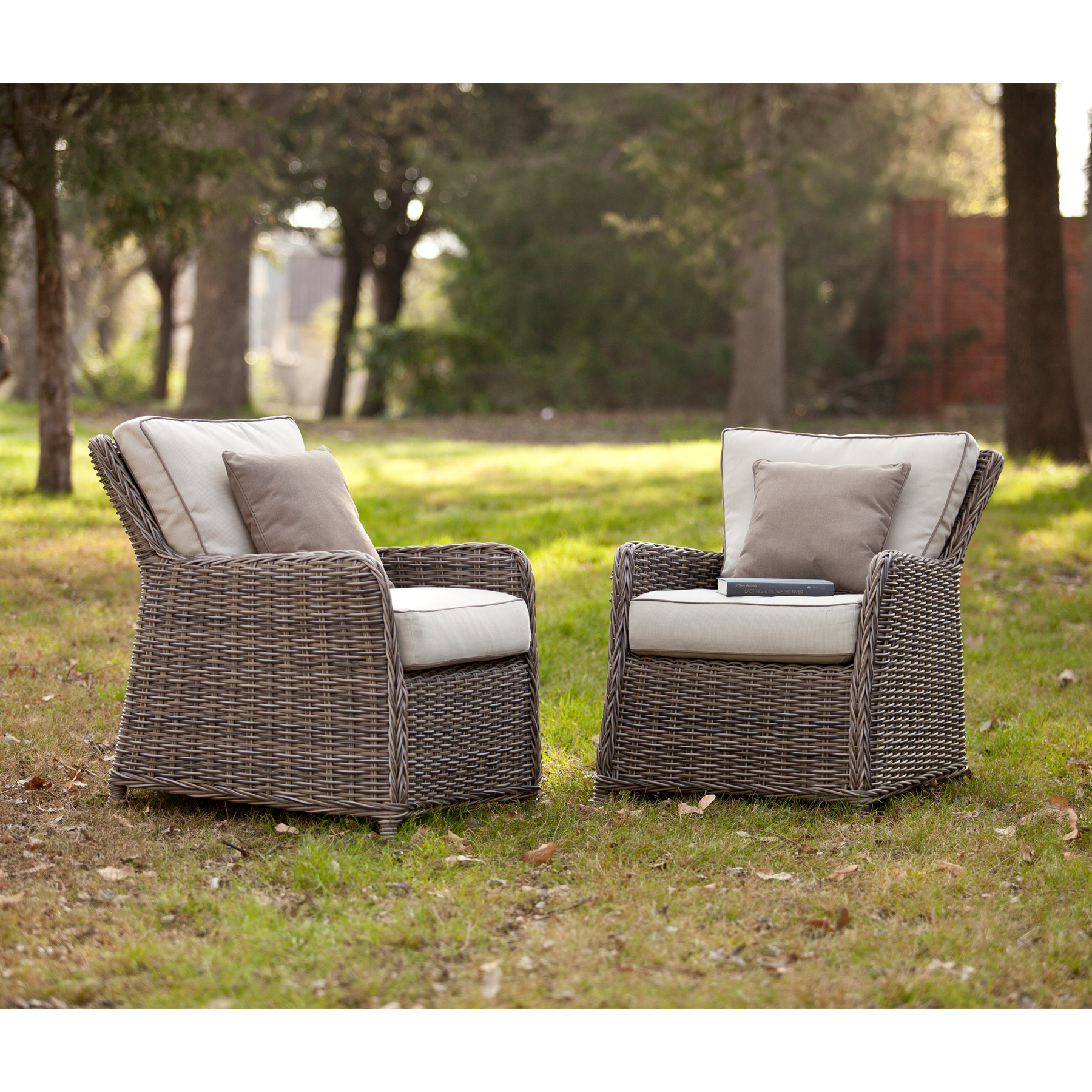 Avadi Outdoor Chairs 2Pc Set