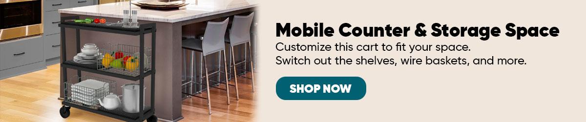 Atlantic Mobile Cart