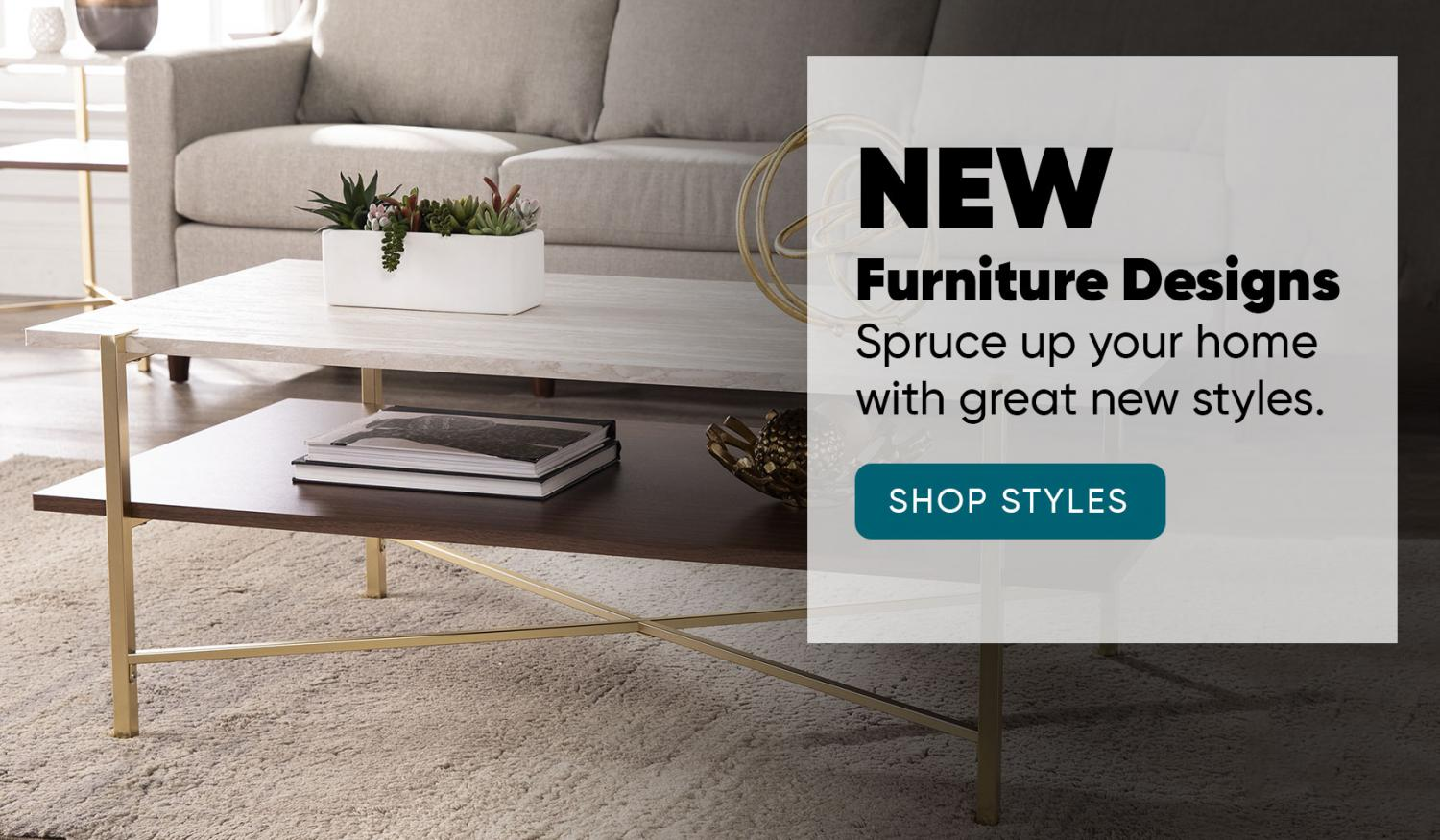 New Furniture Styles from Southern Enterprises, Inc