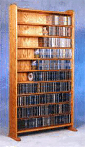 875 CD storage rack