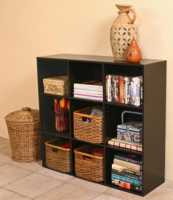 Project Center Bookcase black