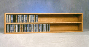236 double capacity CD wall rack