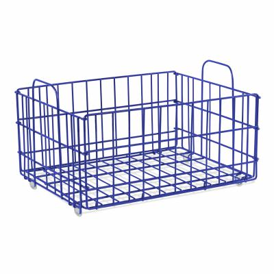 Atlantic Cart System Basket Wire Blue