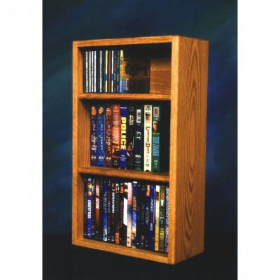 Model 313-1W CD/DVD/VHS Combination Rack