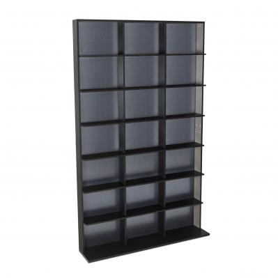 Atlantic Elite Media Storage Cabinet Medium 609CD/420DVD/483BR Black