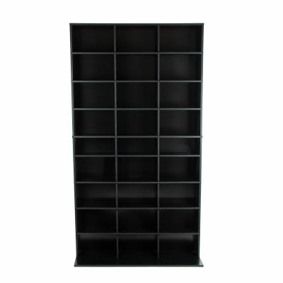 Atlantic Elite Media Storage Cabinet New/Improved Large 837CD/531DVD/630BR Black
