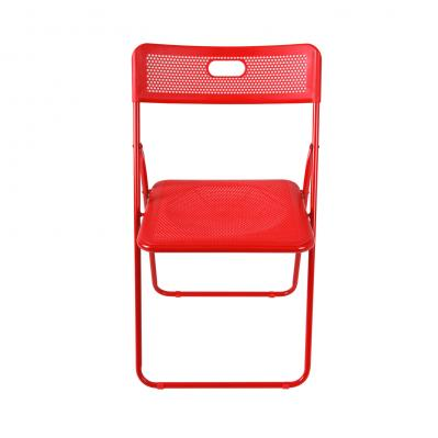 Honeycomb Folding Chair, Red