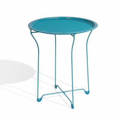 Metal Side Table, Capri Breeze