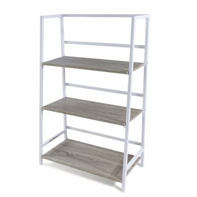 Atlantic 3 Tier Folding Bookshelf White