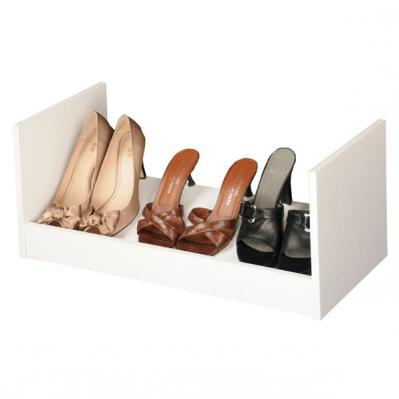 Stackable Shoe Racks white