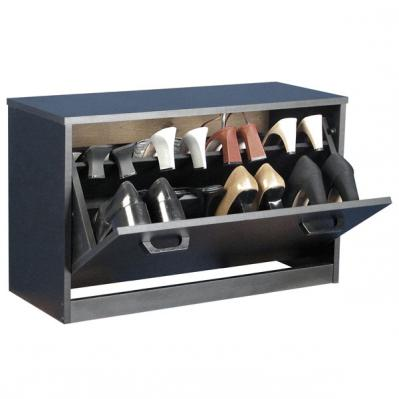 Single Shoe Cabinet black