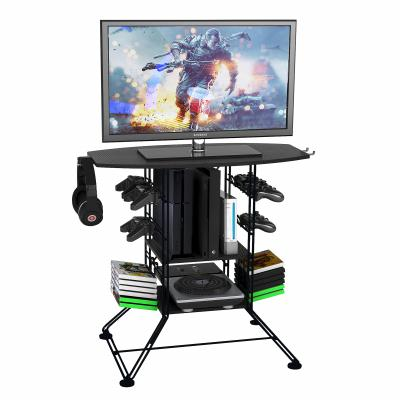 Centipede Game Storage And TV Stand