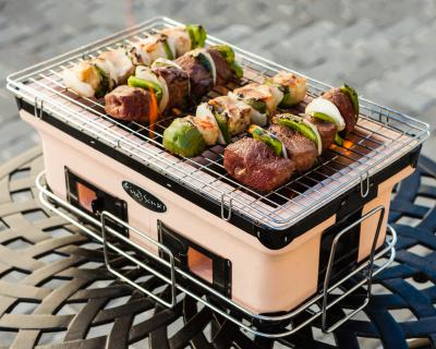 Rectangle Yakatori Charcoal Grill