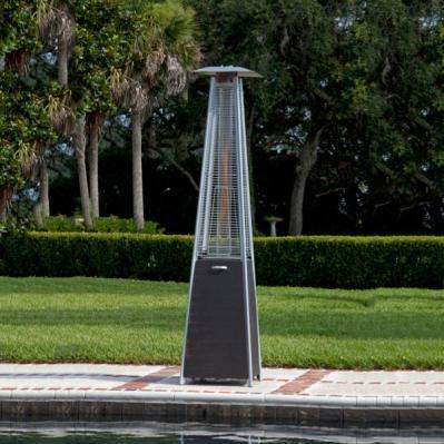 Coronado Brushed Bronze Pyramid Flame Patio Heater