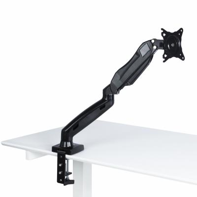 Gas Spring Desk Mount Monitor stand - 17-27