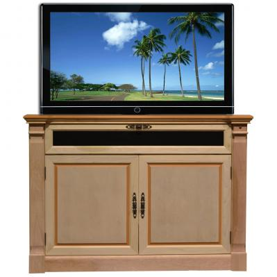 Adonzo Unfinished TV Lift Cabinet