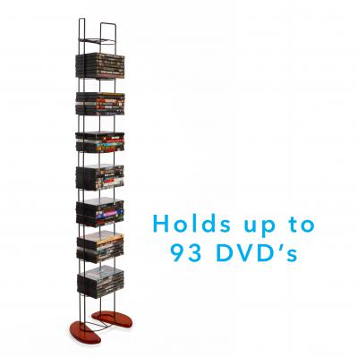 Atlantic Wire Frame Tower 97 DVD Cherry Black