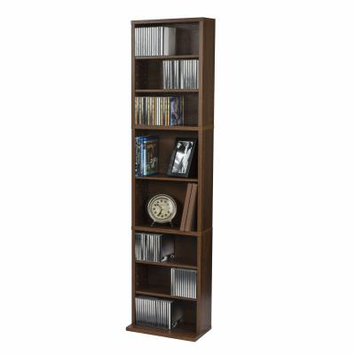 Atlantic Herrin Adjustable Media Cabinet 261 Chestnut