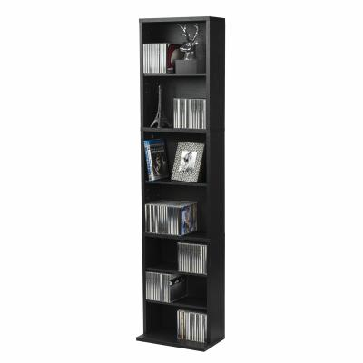 Atlantic Herrin Adjustable Media Cabinet 261 Ebony