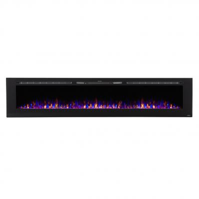 Sideline 100 inch Recessed Electric Fireplace