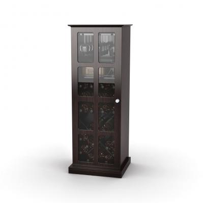 Windowpane 24 Wine Cabinet In Espresso