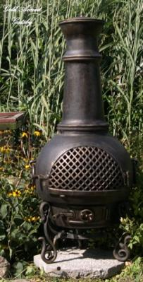 Gatsby Chiminea Outdoor Fireplace