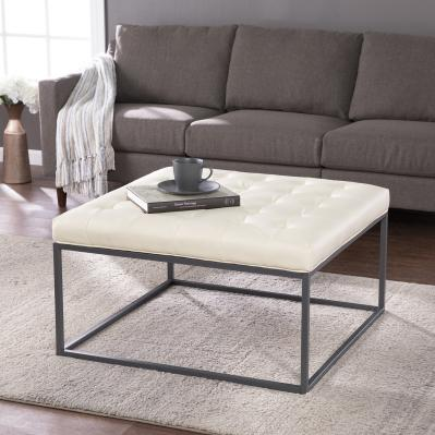 Ciarin Upholstered Cocktail Ottoman