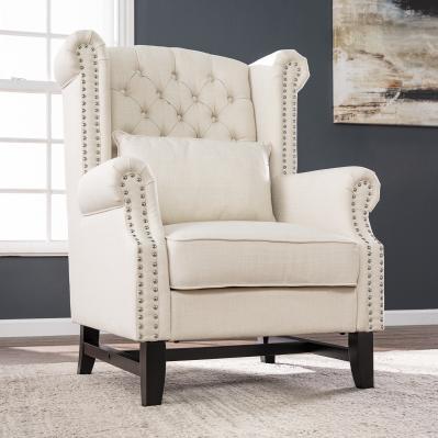 Ashington Upholstered Wingback Chair