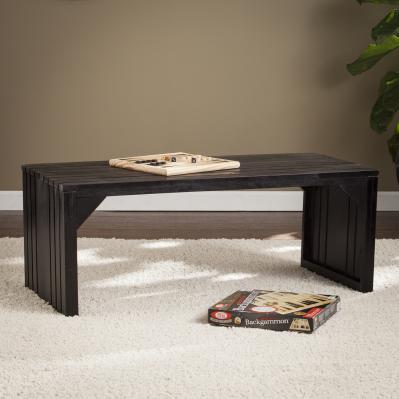 Slat Bench/Table - Espresso