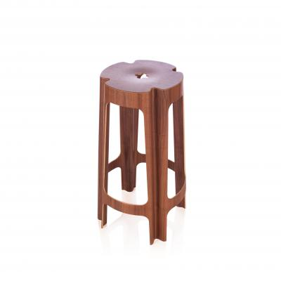 Bloom Barstool - Walnut