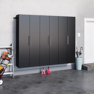 Black HangUps 90 inch Storage Set J - 3pc