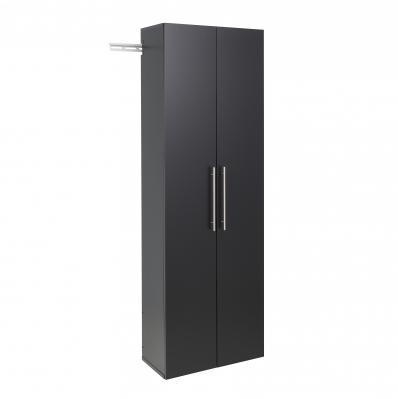 HangUps 24 inch Large Storage Cabinet, Black