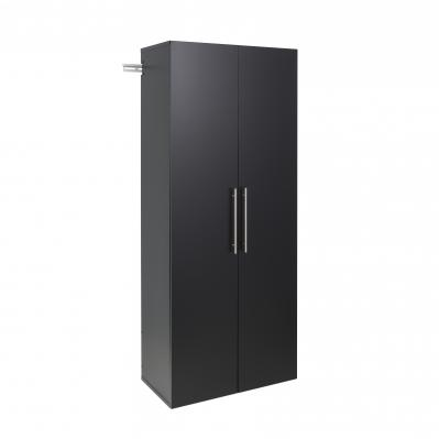 HangUps 30 inch Large Storage Cabinet, Black