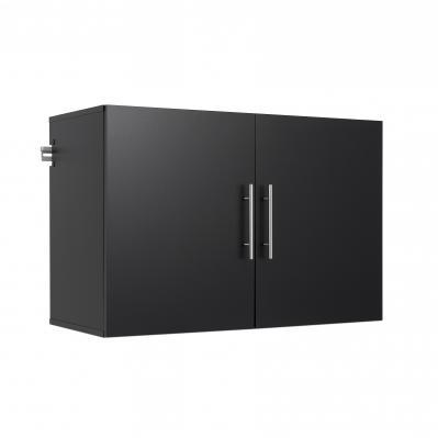 HangUps 36 inch Upper Storage Cabinet, Black