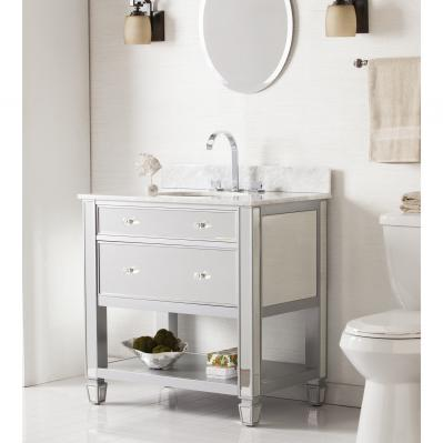 Mirage Bath Vanity Sink W/ Marble Top