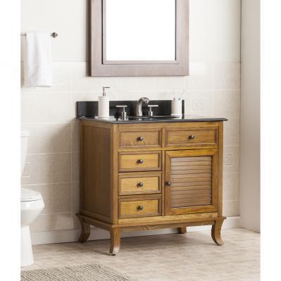 Wallingford Bath Vanity Sink w/ Granite Top
