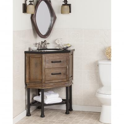 Bainbridge Corner Bath Vanity Sink W/ Granite Top