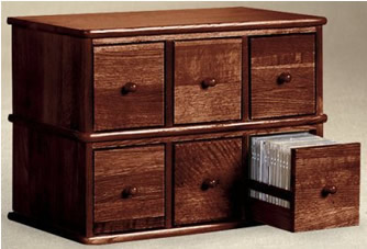 Distinctive Apothecary Style Storage Cabinet